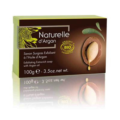 Picture of Naturelle D'Argan Soap Exfoliating Extra Rich with Argan - 3.38 oz