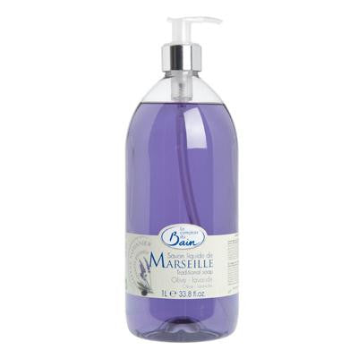 Picture of Le Comptoir Du Bain Liquid Soap - Lavender Olive - 33.8 oz