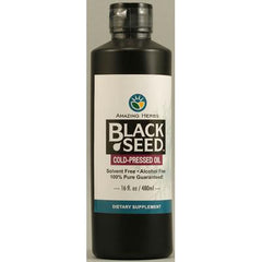 Amazing Herbs Black Seed Oil - 16 fl oz