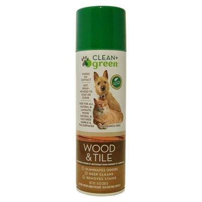 Picture of Clean and Green Pet Stain and Odor Remover for Wood and Tile- 14 oz