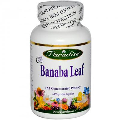 Picture of Paradise Herbs Banana Leaf - 60 Vcaps