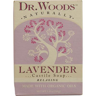 Picture of Dr. Woods Castile Bar Soap Lavender - 5.25 oz