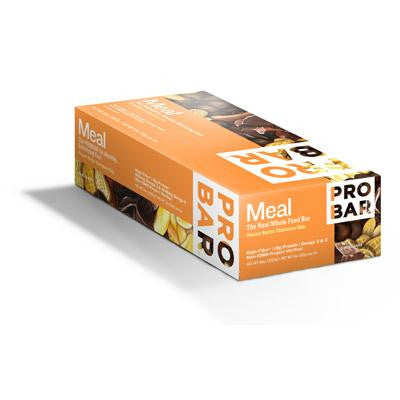 Picture of Probar Organic Peanut Butter Chocolate Chip Bar - Case of 12 - 3 oz