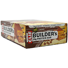 Clif Bar Builder Bar - Smores - Case of 12 - 2.4 oz