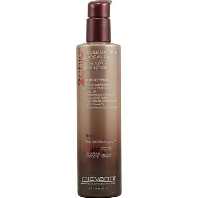 Picture of Giovanni 2chic Ultra-Sleek Body Lotion with Brazilian Keratin and Argan Oil - 8.5 fl oz