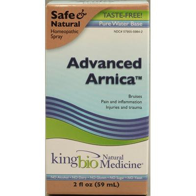 Picture of King Bio Homeopathic Advanced Arnica - 2 fl oz