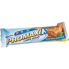 Promax Low Sugar Bar - Peanut Butter Cookie Dough - Case of 12 - 2.36 oz