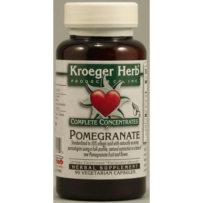 Picture of Kroeger Herb Pomegranate Complete - 90 Vegetarian Capsules
