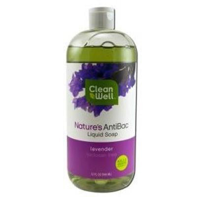 Picture of CleanWell Antibacterial Soap Refill - Lavender - 32 oz