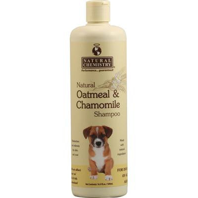 Picture of Natural Chemistry Natural Oatmeal and Chamomile Shampoo for Dogs - 16.9 fl oz