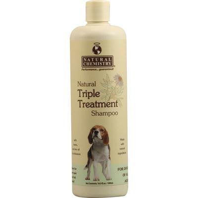 Picture of Natural Chemistry Natural Triple Treatment Shampoo for Dogs - 16.9 fl oz