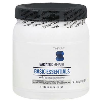 Picture of Twinlab Basic Essentials Bariatric Support - Vanilla - 1.6 lbs