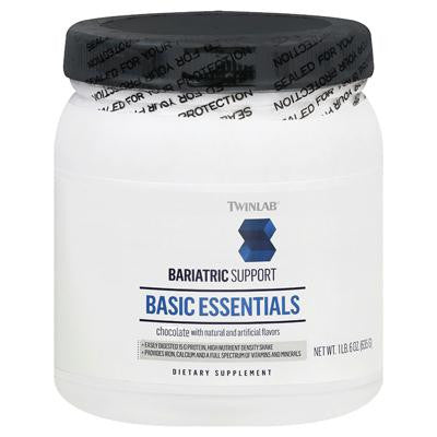Picture of Twinlab Basic Essentials Bariatric Support - Chocolate - 1.6 lbs