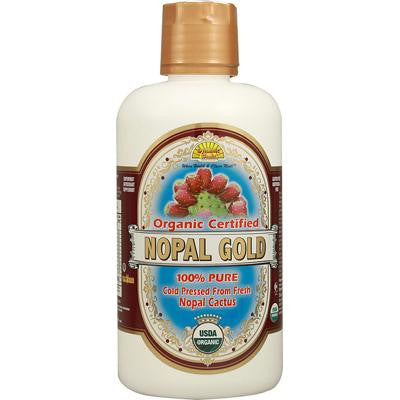 Picture of Dynamic Health Organic Certified Nopal Gold - 32 fl oz