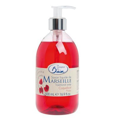 Picture of Le Comptoir Du Bain Liquid Soap - Poppy - 16.9 oz