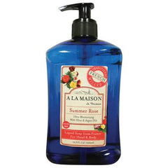 A La Maison French Liquid Soap - Rose - 16.9 oz
