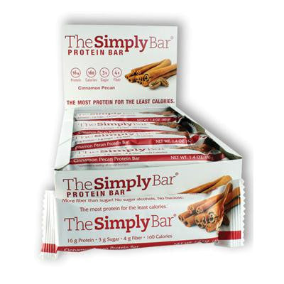 Picture of The Simply Bar Protein Bar - Cinnamon and Pecan - Case of 15 - 1.4 oz