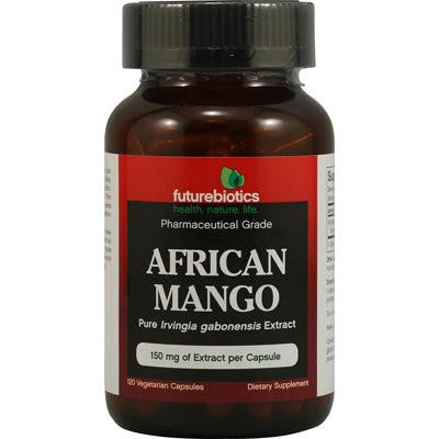 Picture of FutureBiotics African Mango - 150 mg - 120 Vegetarian Capsules
