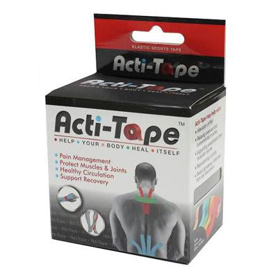 Picture of Nutriworks Acti-Tape Elastic Sports Tape - Red - 2.6 oz