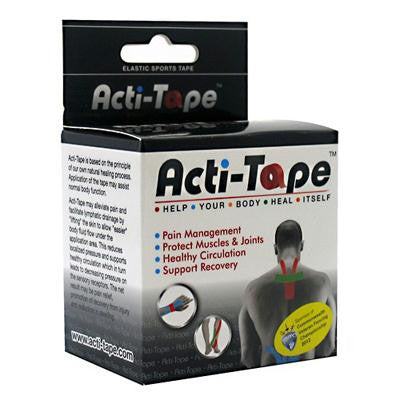 Picture of Nutriworks Acti-Tape Elastic Sports Tape - Black - 2.6 oz