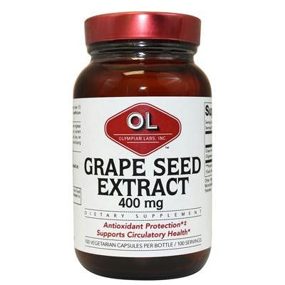 Picture of Olympian Labs Grape Seed Naturopathic - 400 mg - 100 Capsules