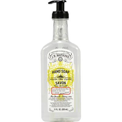 Picture of J.R. Watkins Liquid Hand Soap Aloe And Green Tea - 11 fl oz - Case of 6