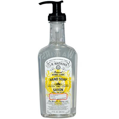 Picture of J.R. Watkins Liquid Hand Soap Lemon - 11 fl oz - Case of 6