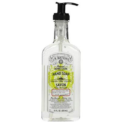 Picture of J.R. Watkins Liquid Hand Soap - Aloe and Green Tea - 11 oz