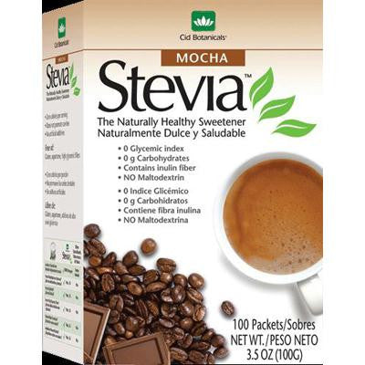 Picture of Cid Botanicals Stevia Mocha Packets - 3.5 oz
