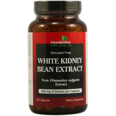 Picture of FutureBiotics White Kidney Bean Extract - 500 mg - 200 Capsules