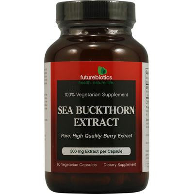 Picture of FutureBiotics Sea Buckthorn Extract - 500 mg - 60 Vegetarian Capsules