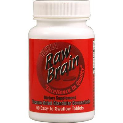 Picture of Ultra Glandulars Raw Brain - 60 Tablets