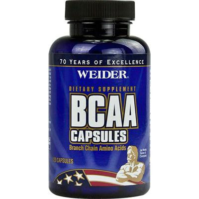 Picture of Weider Global Nutrition BCAA Capsules - 120 Caps