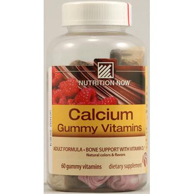 Picture of Nutrition Now Calcium Gummy Vitamins Assorted - 60 Gummies
