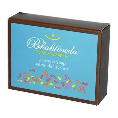 Picture of Bhaktiveda Lavender Soap - 3.53 oz
