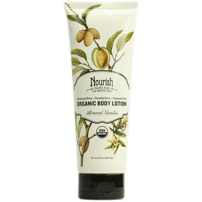 Picture of Nourish Organic Body Lotion Almond Vanilla - 8 fl oz