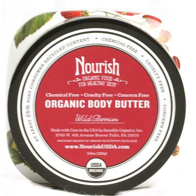 Picture of Nourish Organic Body Butter Wild Berry - 3.6 oz
