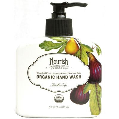 Picture of Nourish Organic Hand Wash - Fresh Fig - 7 fl oz