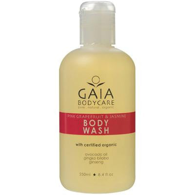 Picture of Gaia Skin Naturals Body Wash - Pink Grapefruit and Jasmine - 8.4 oz