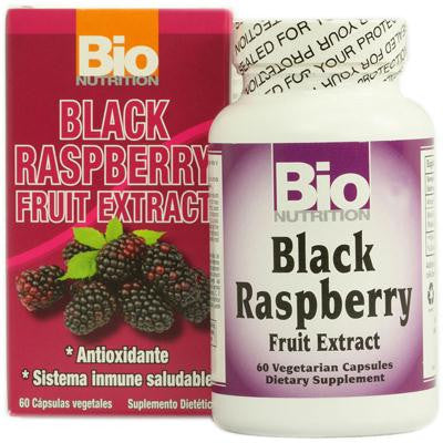 Picture of Bio Nutrition Black Raspberry Fruit Extract - 60 Vegetarian Capsules