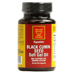 African Red Tea Imports Egyptian Black Cumin Seed - 90 Softgel Capsules