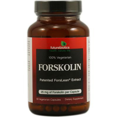 Picture of FutureBiotics Forskolin - 25 mg - 60 Vegetarian Capsules