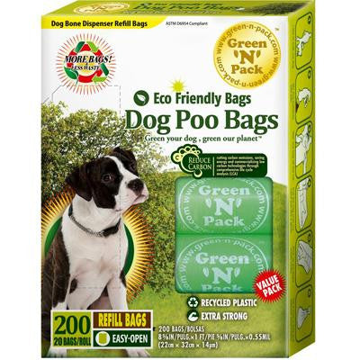Picture of Eco-Friendly Bags Dog Poo Bags - 200 Pack