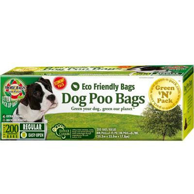 Picture of Eco-Friendly Bags Dog Poo Bags Value Pack - 200 Pack