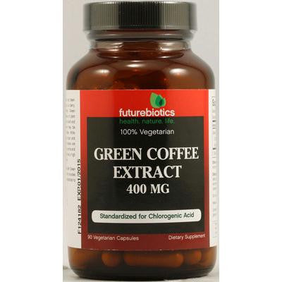 Picture of FutureBiotics Green Coffee Extract - 400 mg - 90 Vegetarian Capsules