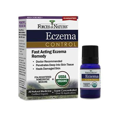 Picture of Forces of Nature Organic Eczema Control - 11 ml