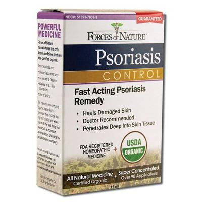 Picture of Forces of Nature Organic Psoriasis Control - 11 ml
