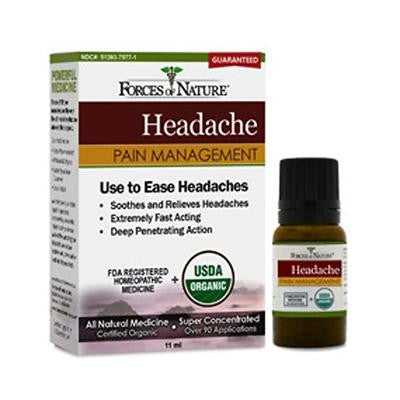 Picture of Forces of Nature Organic Headache Pain Management - 11 ml