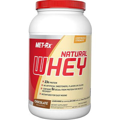 Picture of Met-Rx Instantized Natural Whey Protein Chocolate - 2 lbs