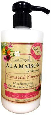 Picture of A La Maison Hand and Body Ultra Moisturizing Lotion - Thousand Flowers - 10 oz